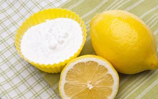 consigli d'uso per limone e bicarbonato